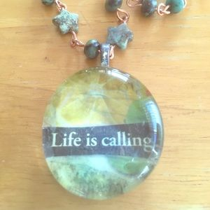 Jewelry - Life is calling necklace